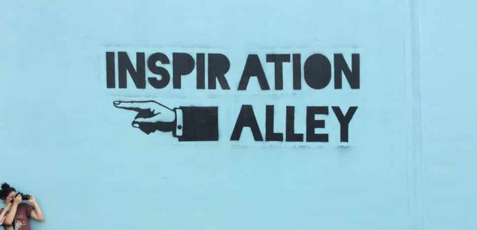 Inspiration Alley in Fort Worth