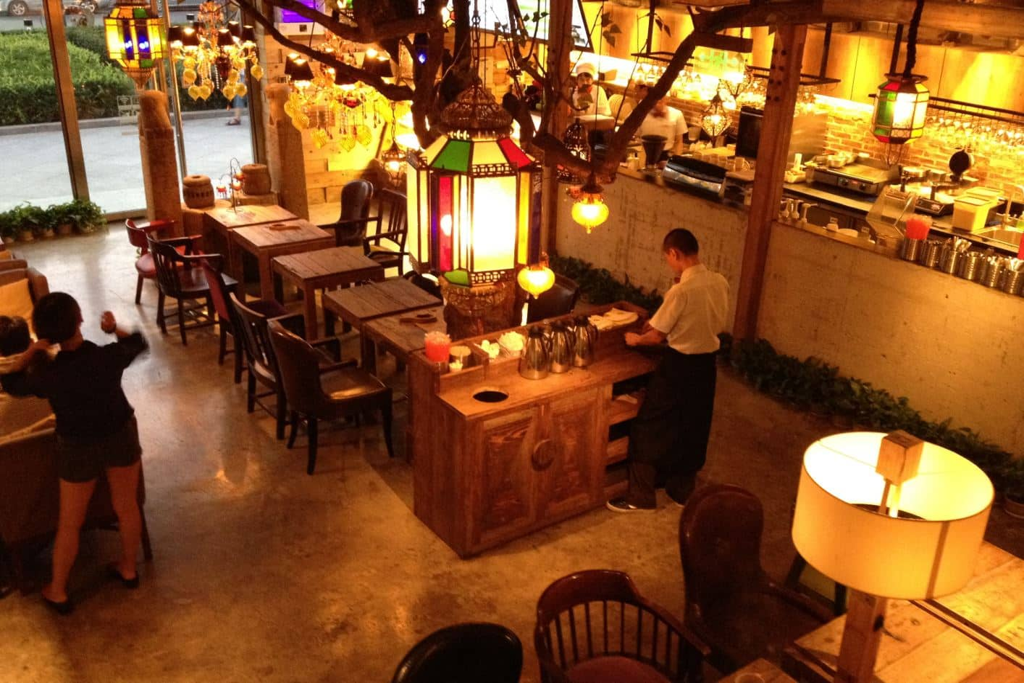 Maan Cafe Coffee Beijing