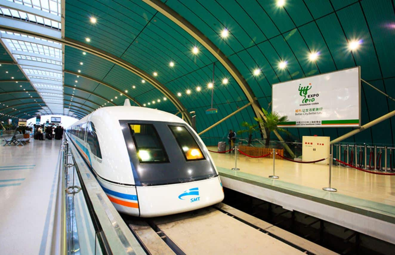 Ride the Shanghai Maglev