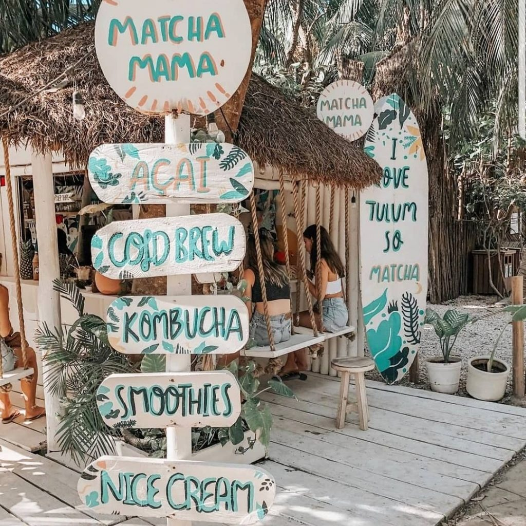 Matcha Mama Instagrammable Cafe
