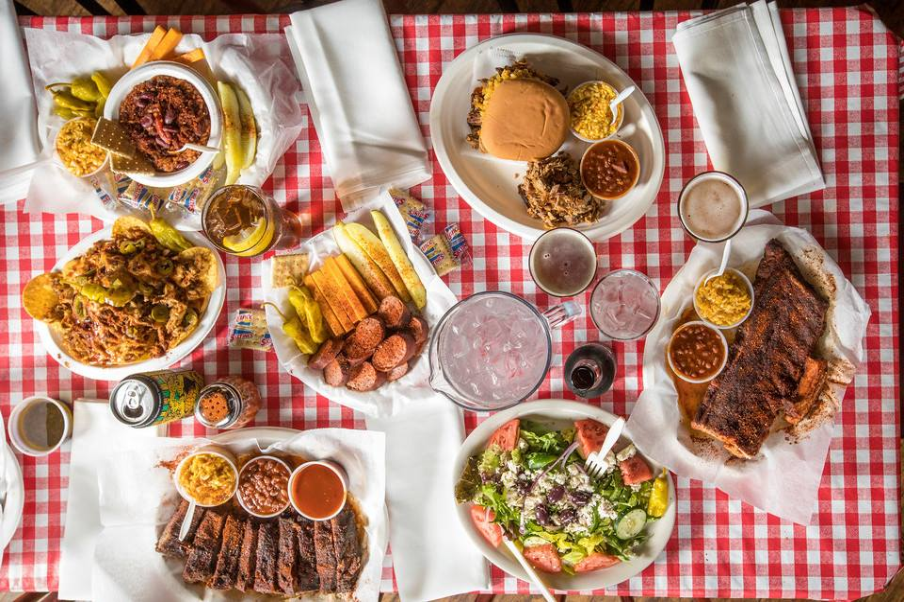 BBQ feast In Memphis