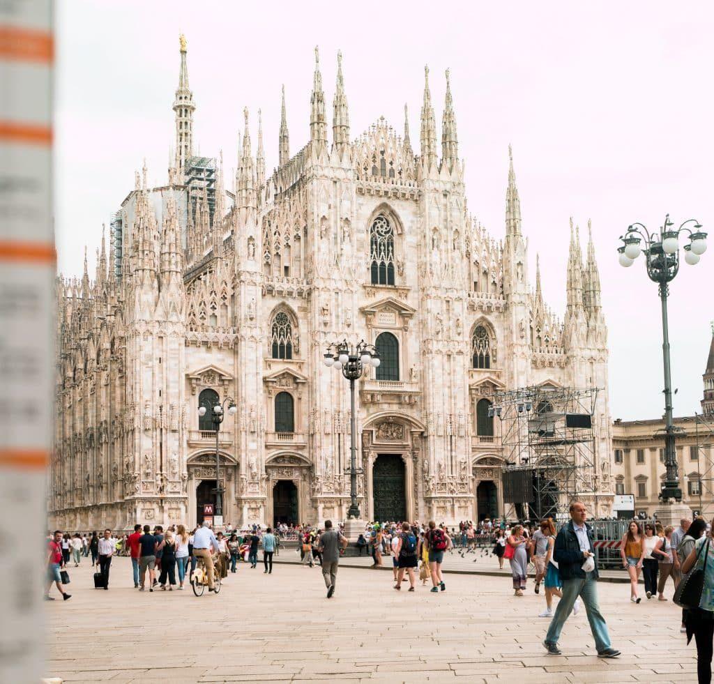 The stylish fashion capital in Europe