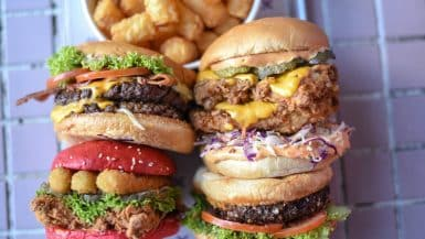 best burgers in Canberra Australia