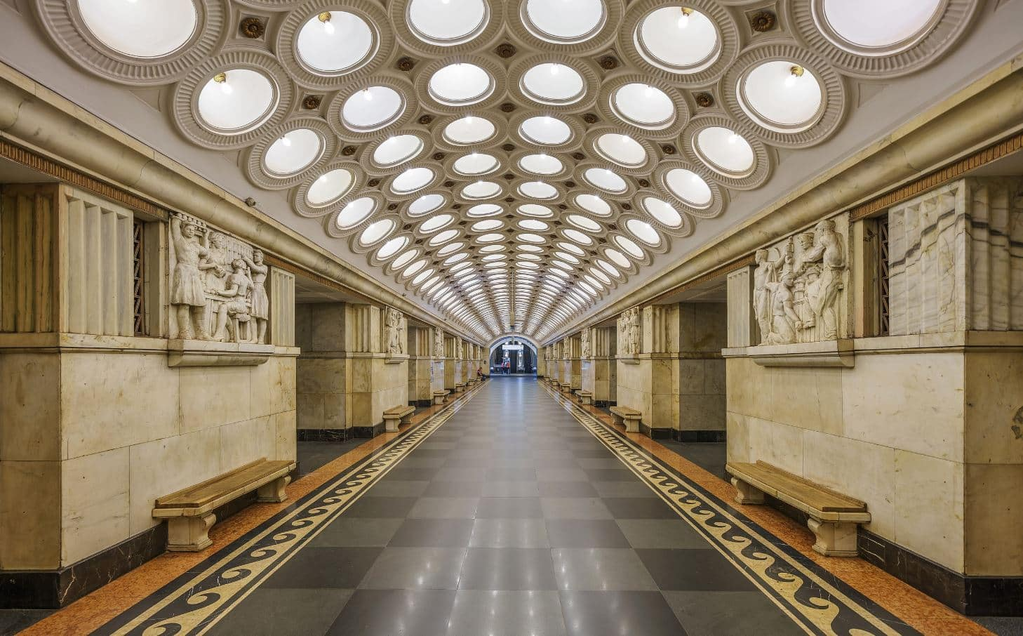 Marvel at Design of Metro Stations