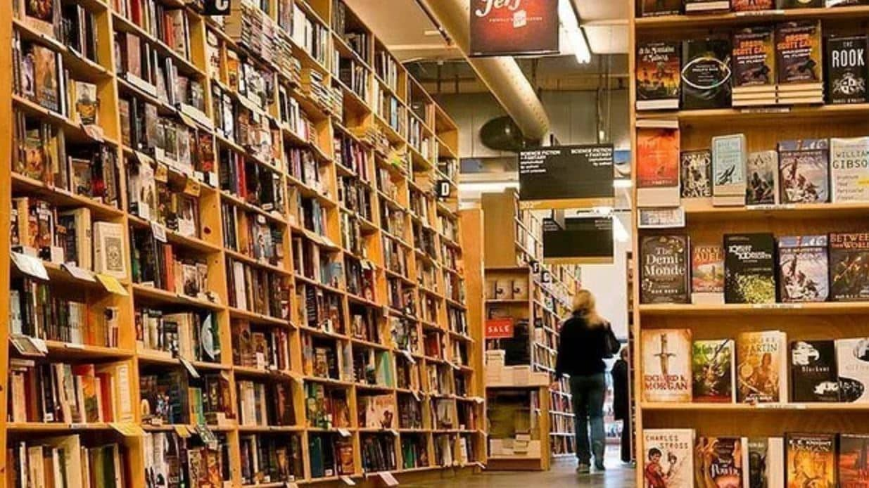 Powell's Books in Portland
