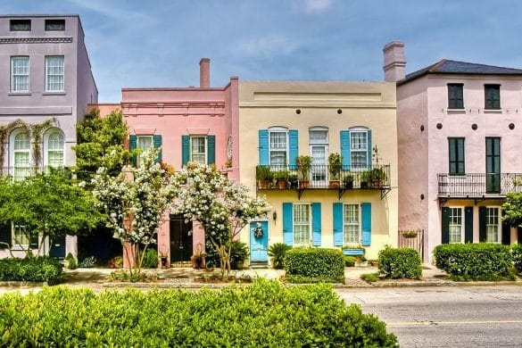 instagrammable places in charleston