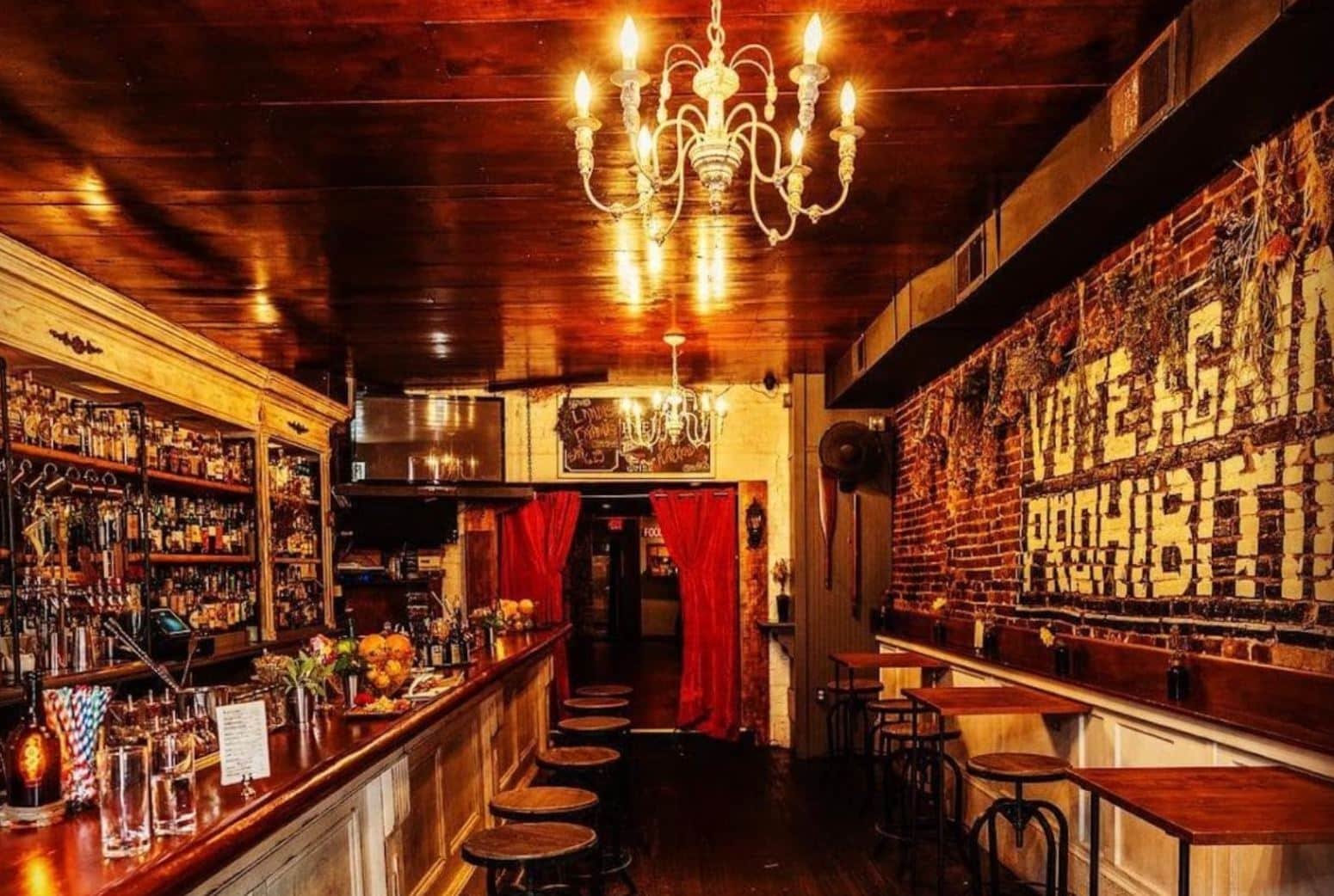 Rye Bar in Baltimore