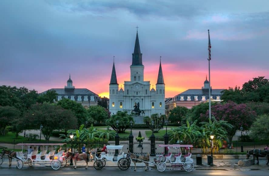 St. Louis Cathedral Jackson Square
