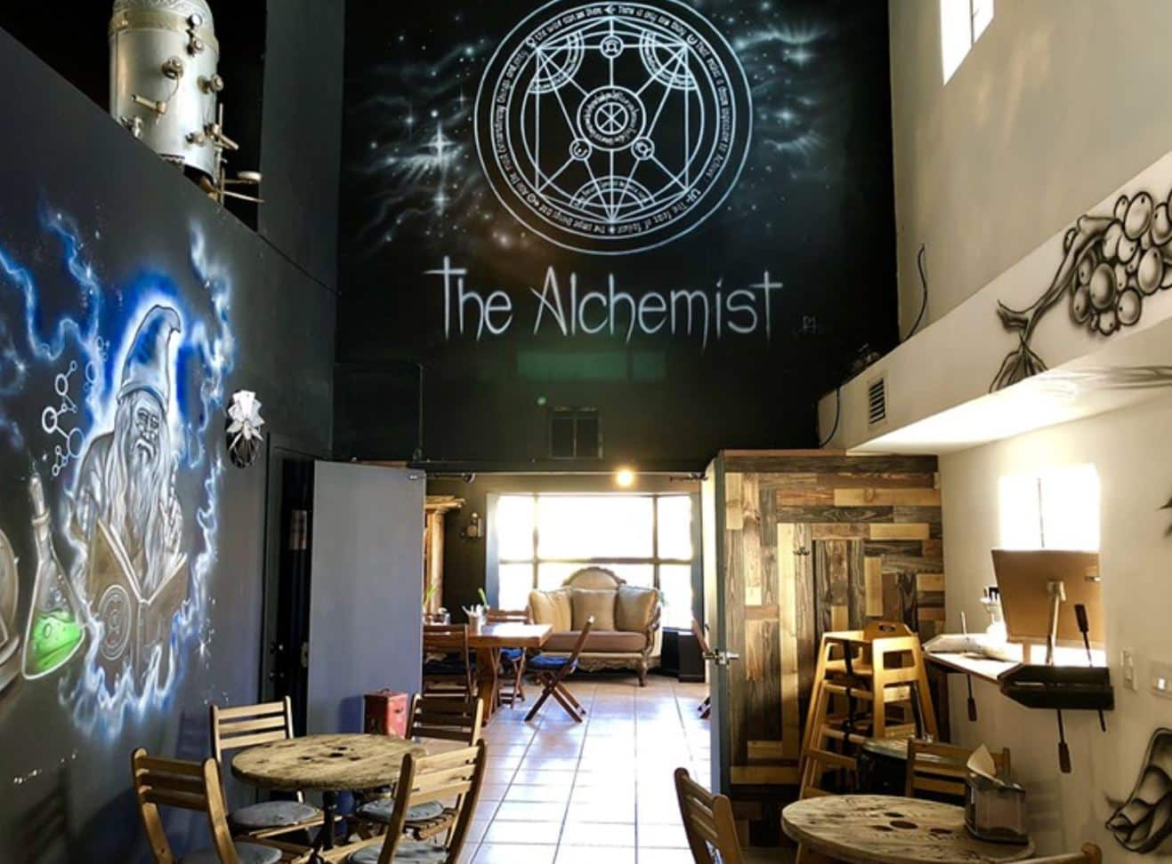 The Alchemist Cafe