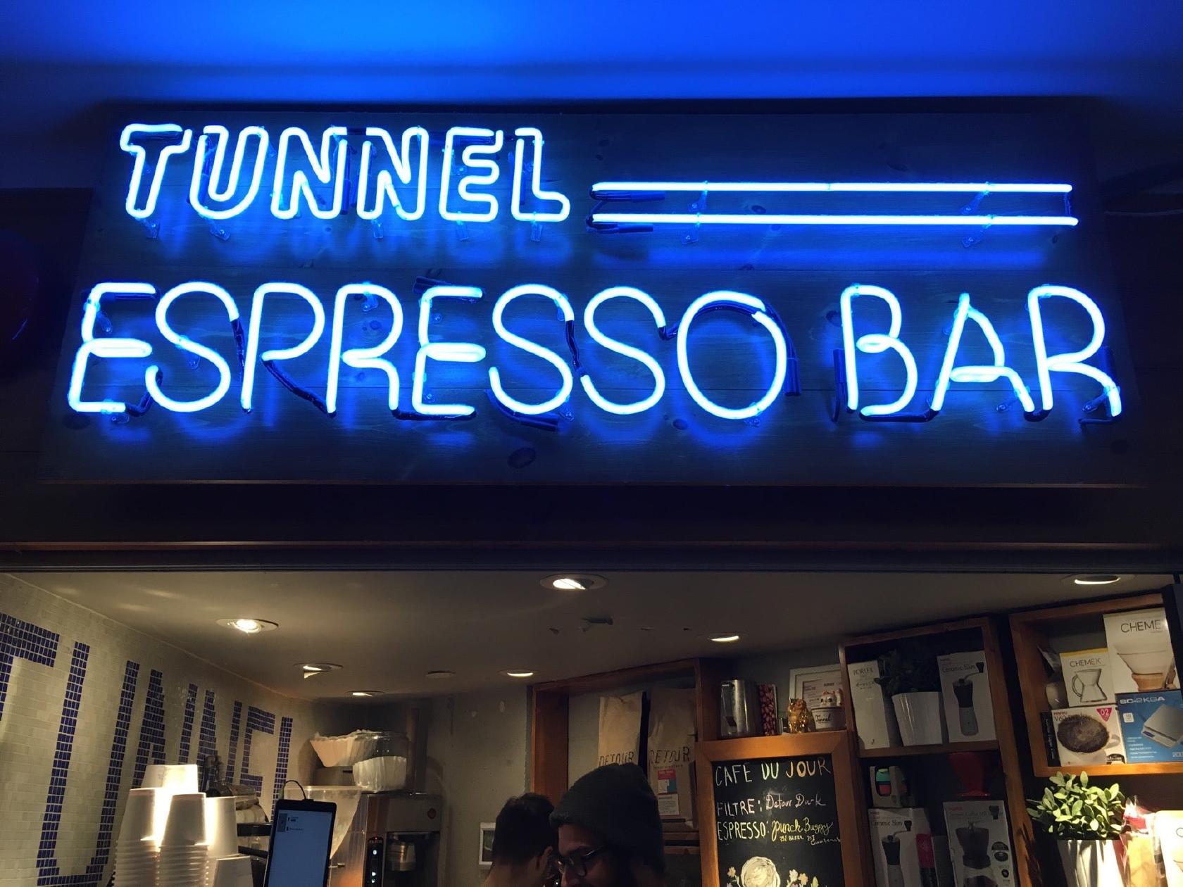 Tunnel Espresso Bar Coffee