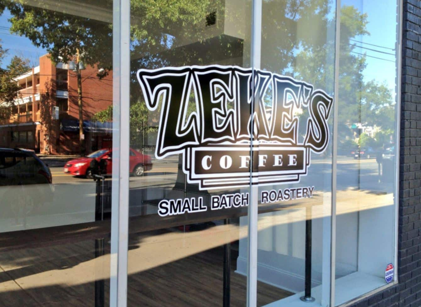 Zeke's Coffee in Baltimore