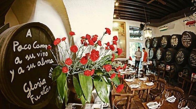 Traditional Bodega Tavern in Malaga