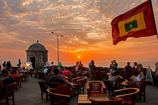 Rooftop Sunset Bar in Cartagena