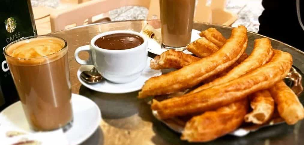 Churros, Chocolate & Coffee in Spain