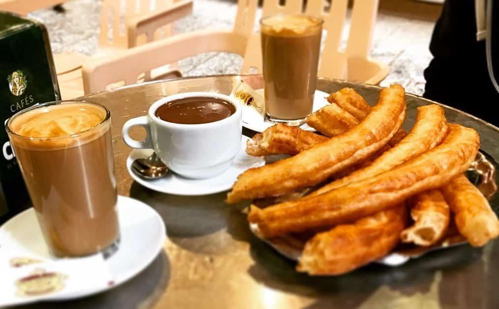 Churros, Chocolate & Coffee in Spain