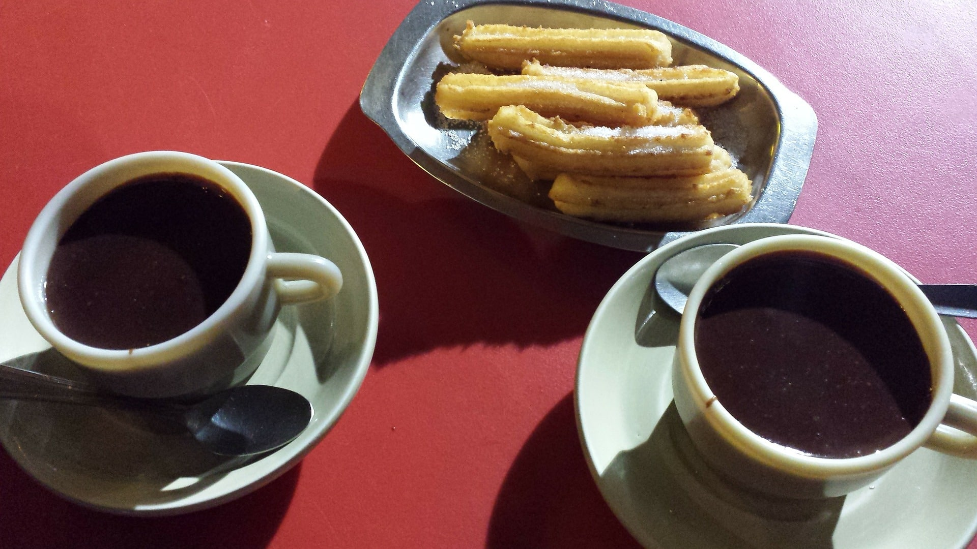 Traditional Churros in Valencia Spain