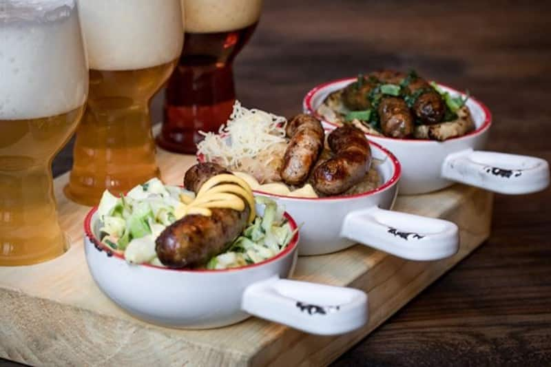 Craft Beers and Authentic German Sausages in Berlin