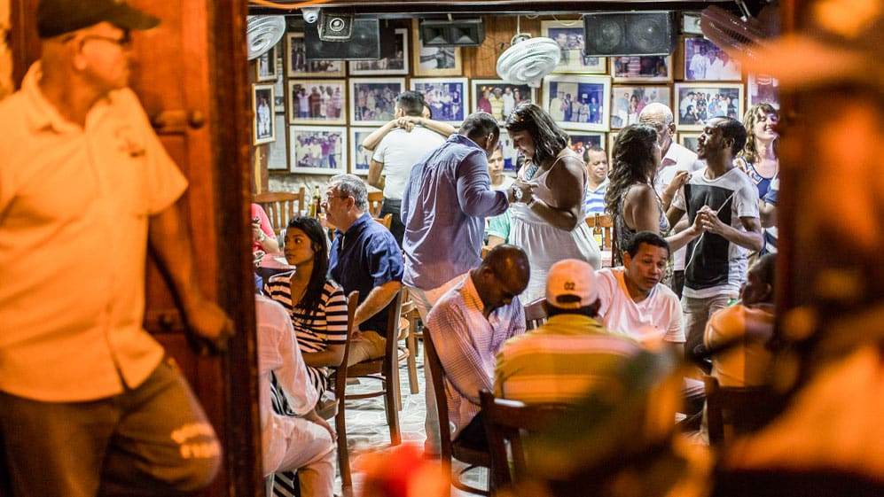 Authentic Cantina Bar in Cartagena
