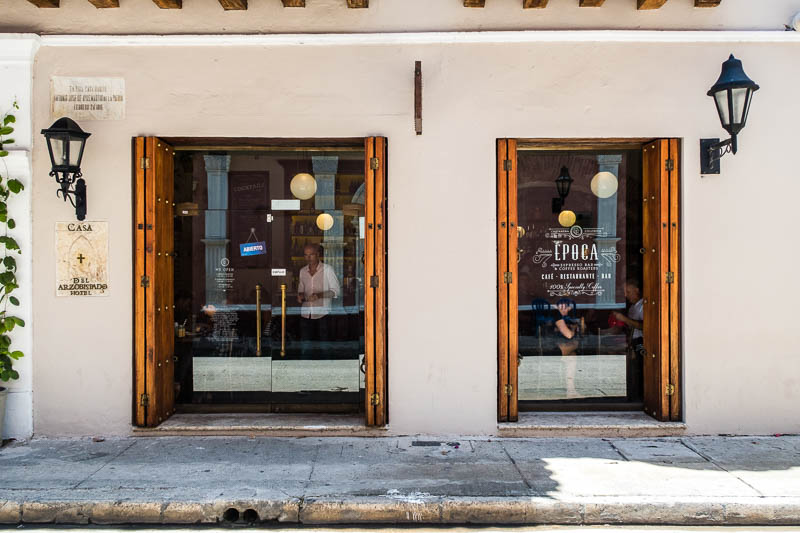 Coffee Shops in Cartagena, Colombia