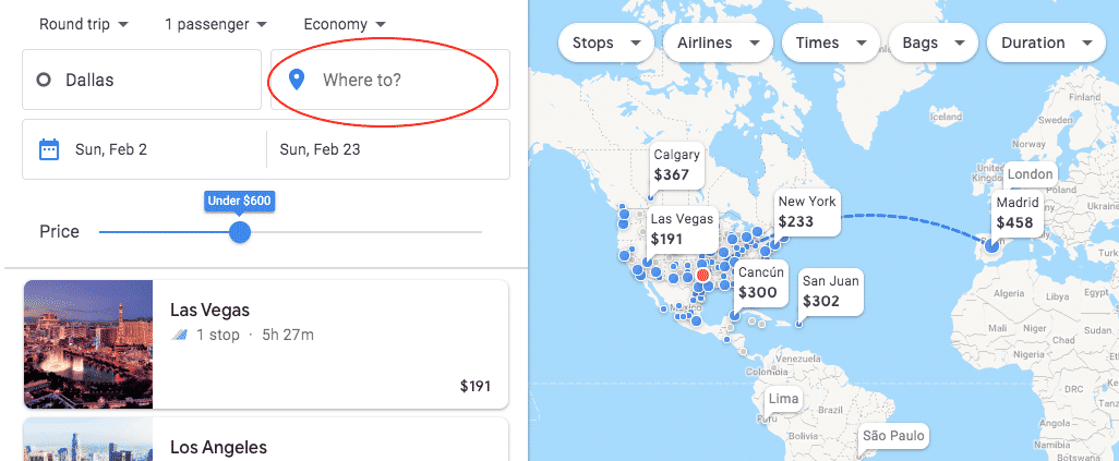How to Get Cheap Flights with Google Flights