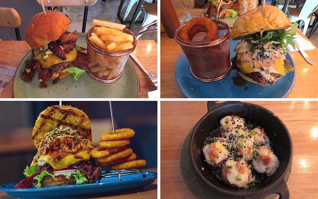Delicious Burgers in Medellin, Colombia