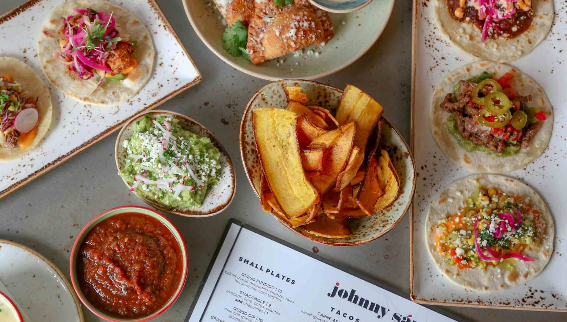 Mexican and New Orleans Cuisine