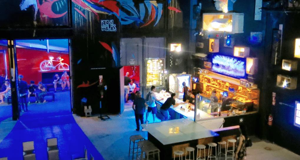 Art Studio Gallery Space and Bar in Havana