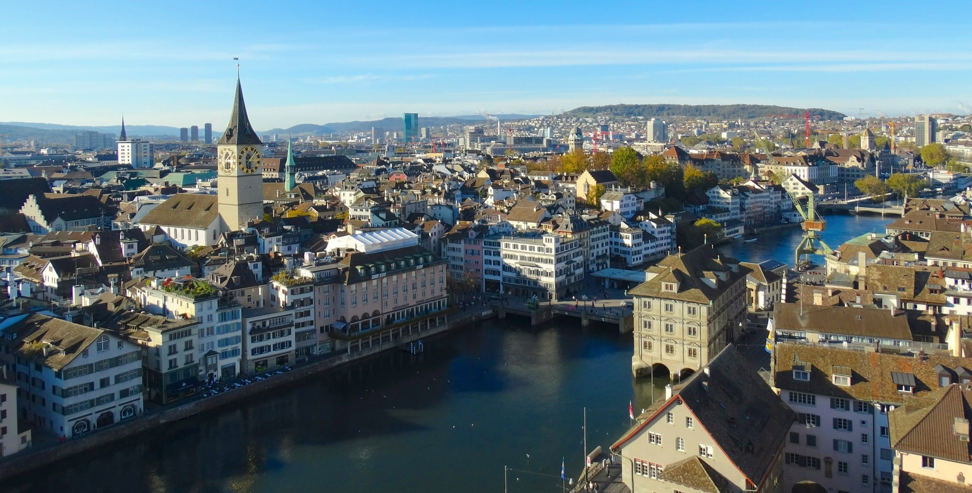 Where to Find the Best Views in Zurich