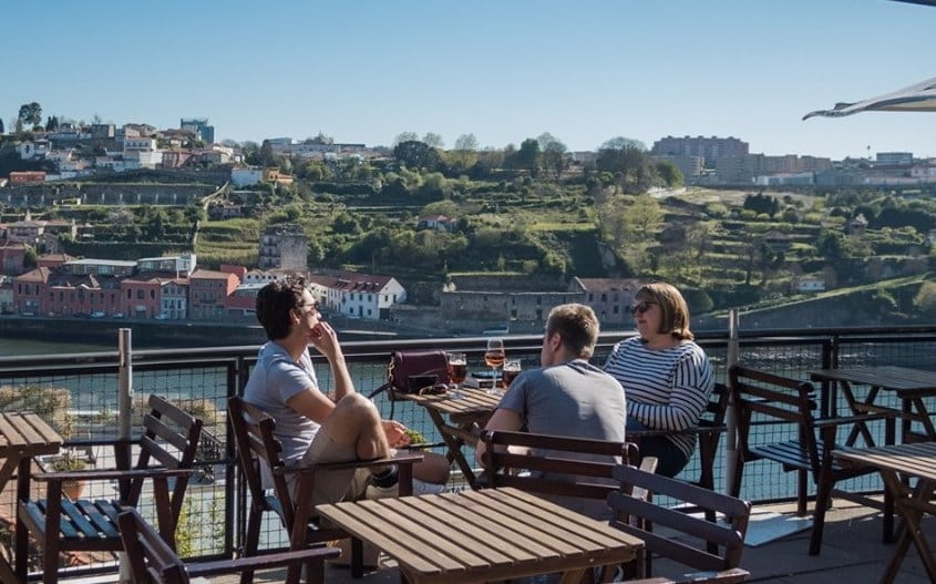 Views of the River Douro in Porto