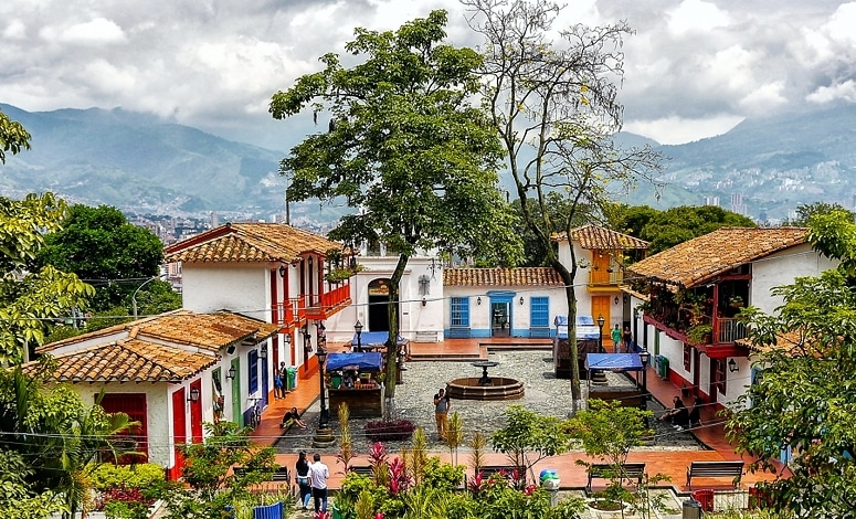 Pueblito Paisa Instagrammable Place Medellin