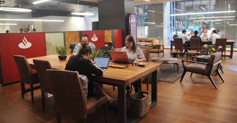 Remote Work Cafe Santander Santiago Chile