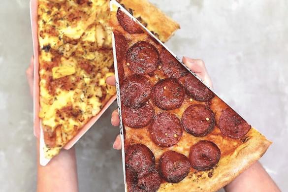 World's best pizza slices