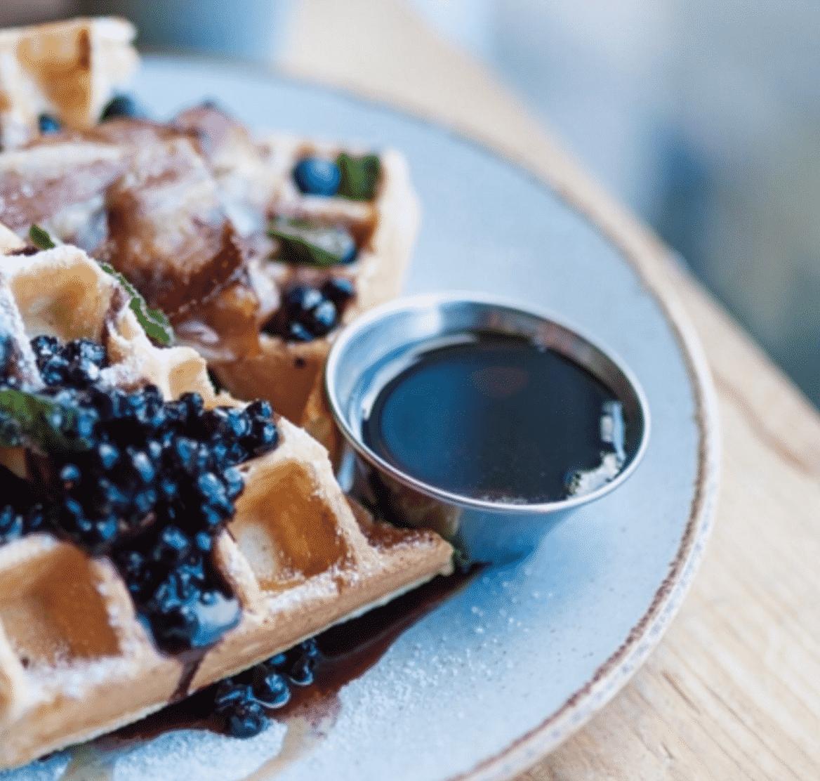 The best waffles for brunch in Edinburgh