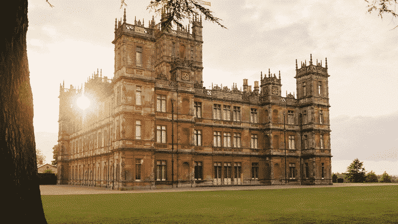downton abbey castle