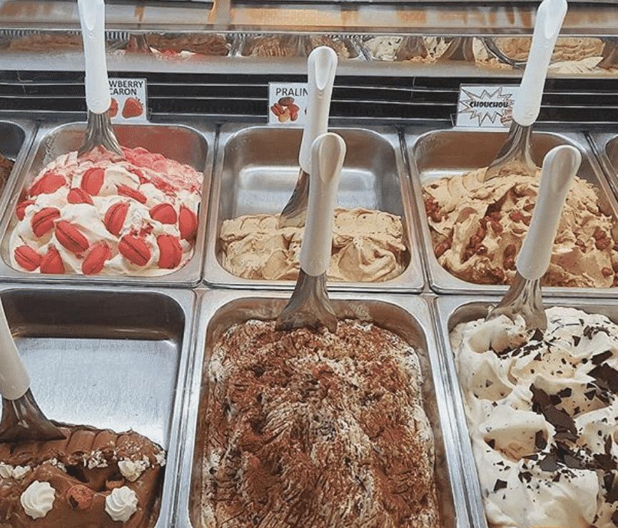 best ice cream parlours in Asia
