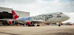 Virgin Atlantic Star Wars-Themed Plane