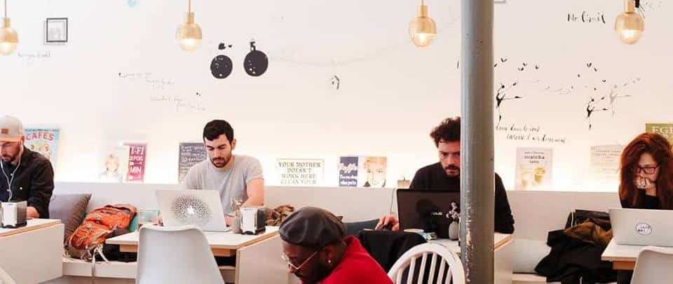 Remote Working Laptop-Friendly Cafe in Lisbon