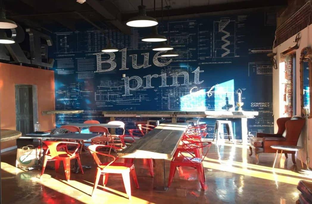 Blueprint Cafe Newark
