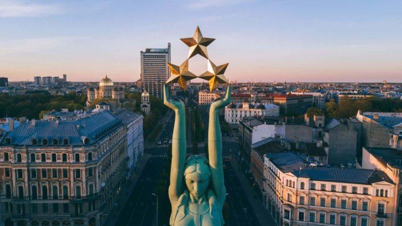 Freedom Monument Riga