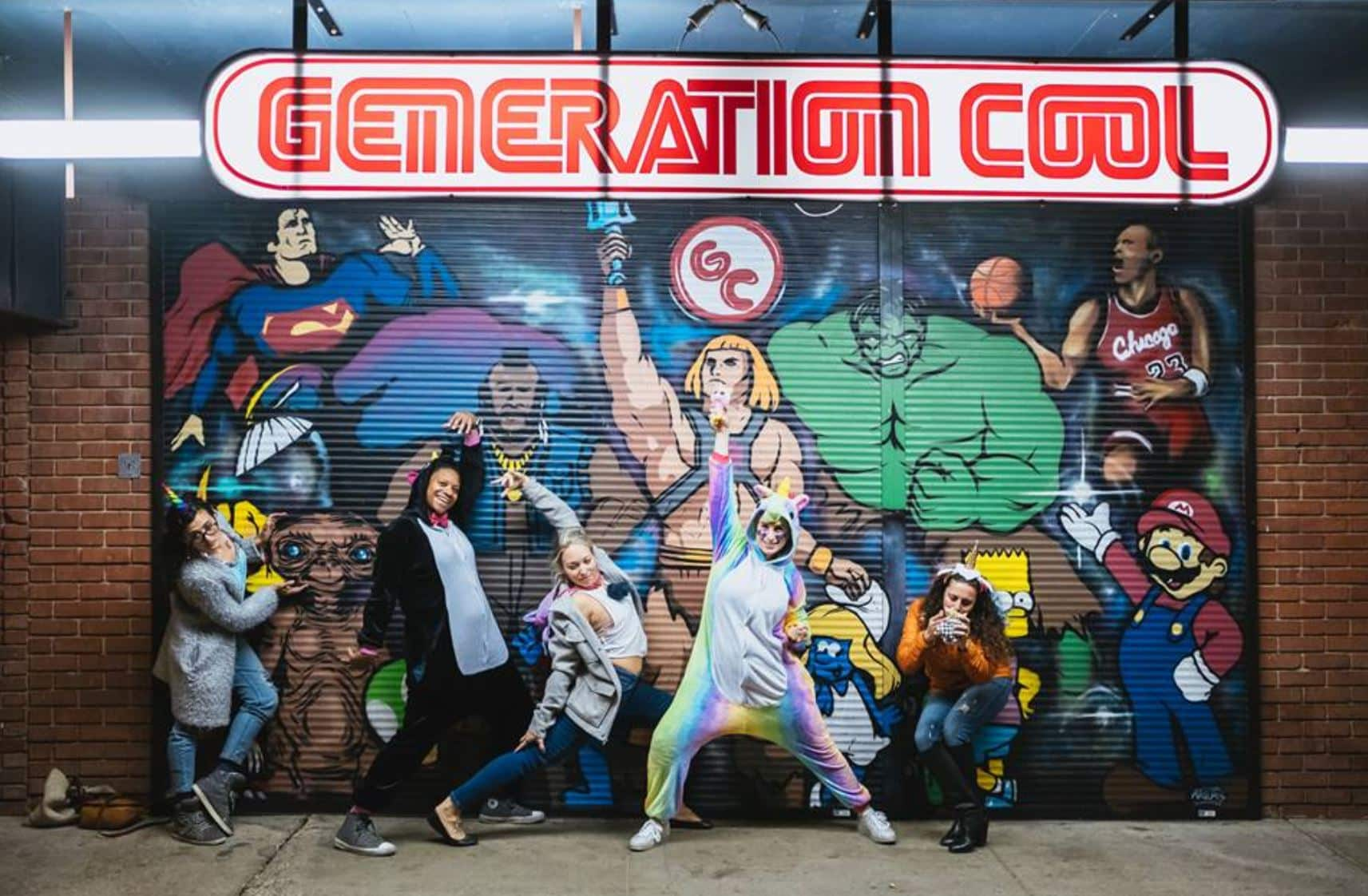 Generation Cool Mural on 4th Ave