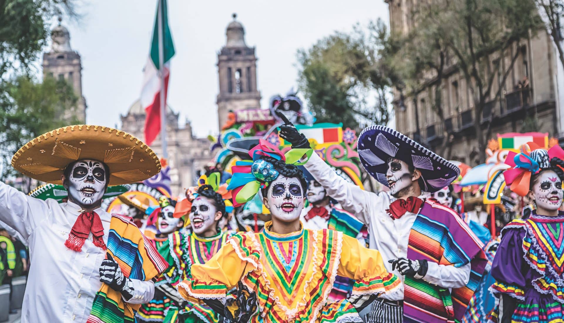 Best Day of the Dead Parades in Mexico 2019