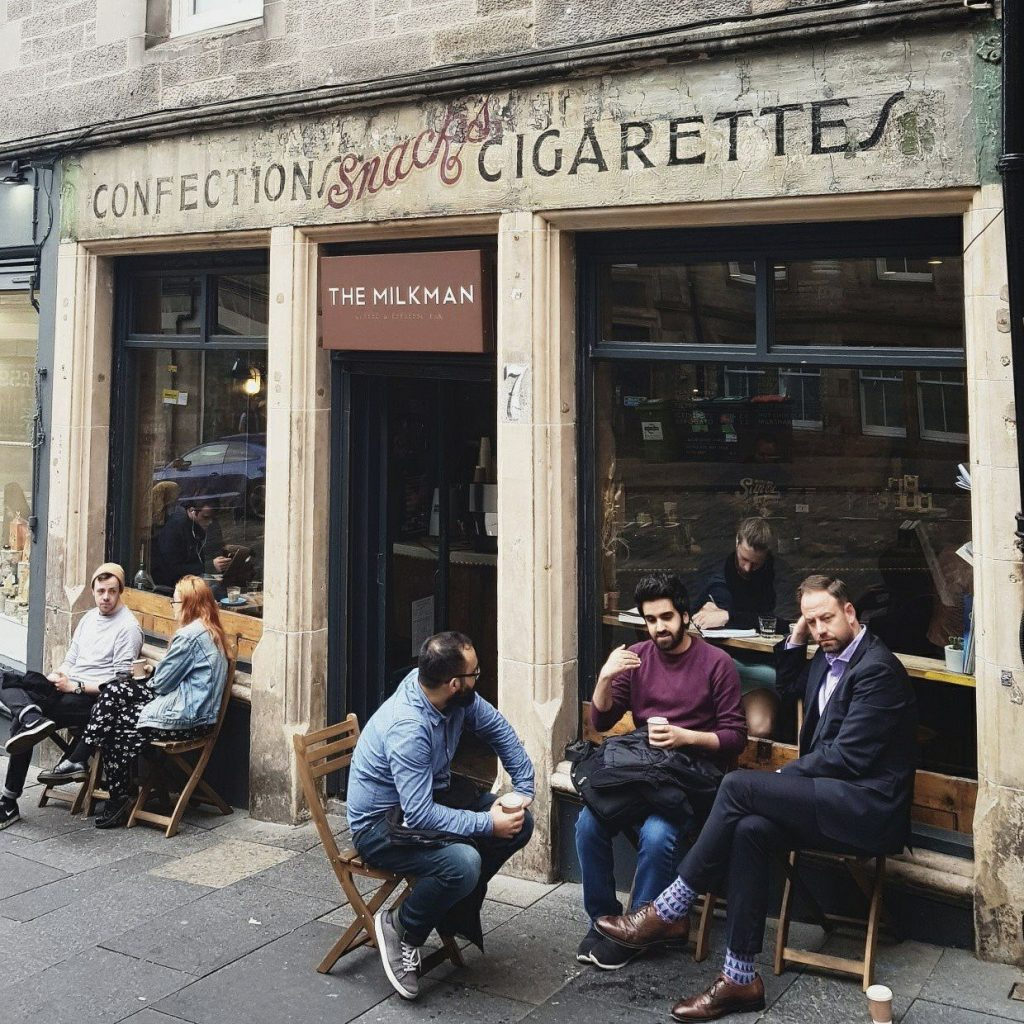 best coffee Edinburgh