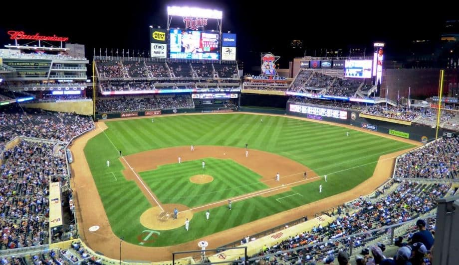 Minnesota Twins Baseball Game at Target Field