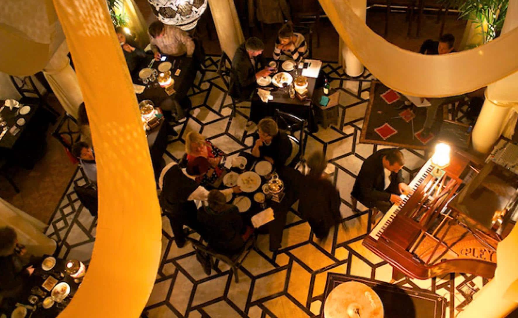 Casablanca Inspired Cafe