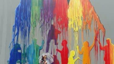 Splash Mural Sacramento