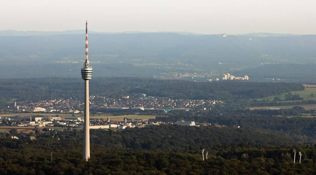 Fernsehturm Television Tower Stuttgart