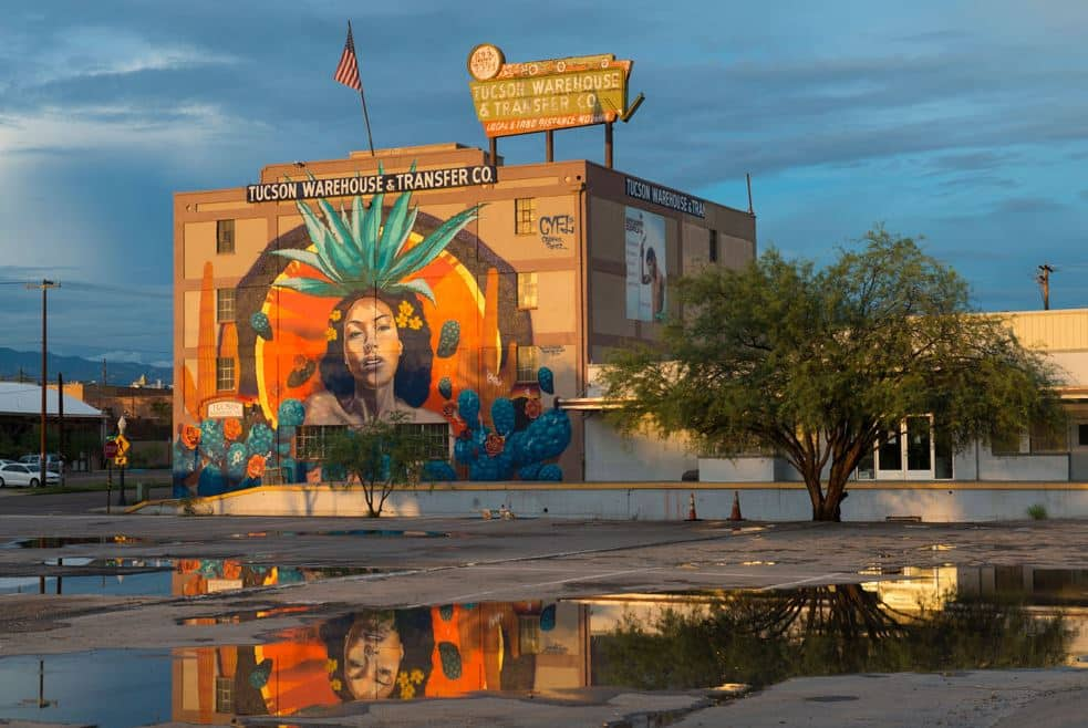 Tucson Warehouse and Transfer Co Mural