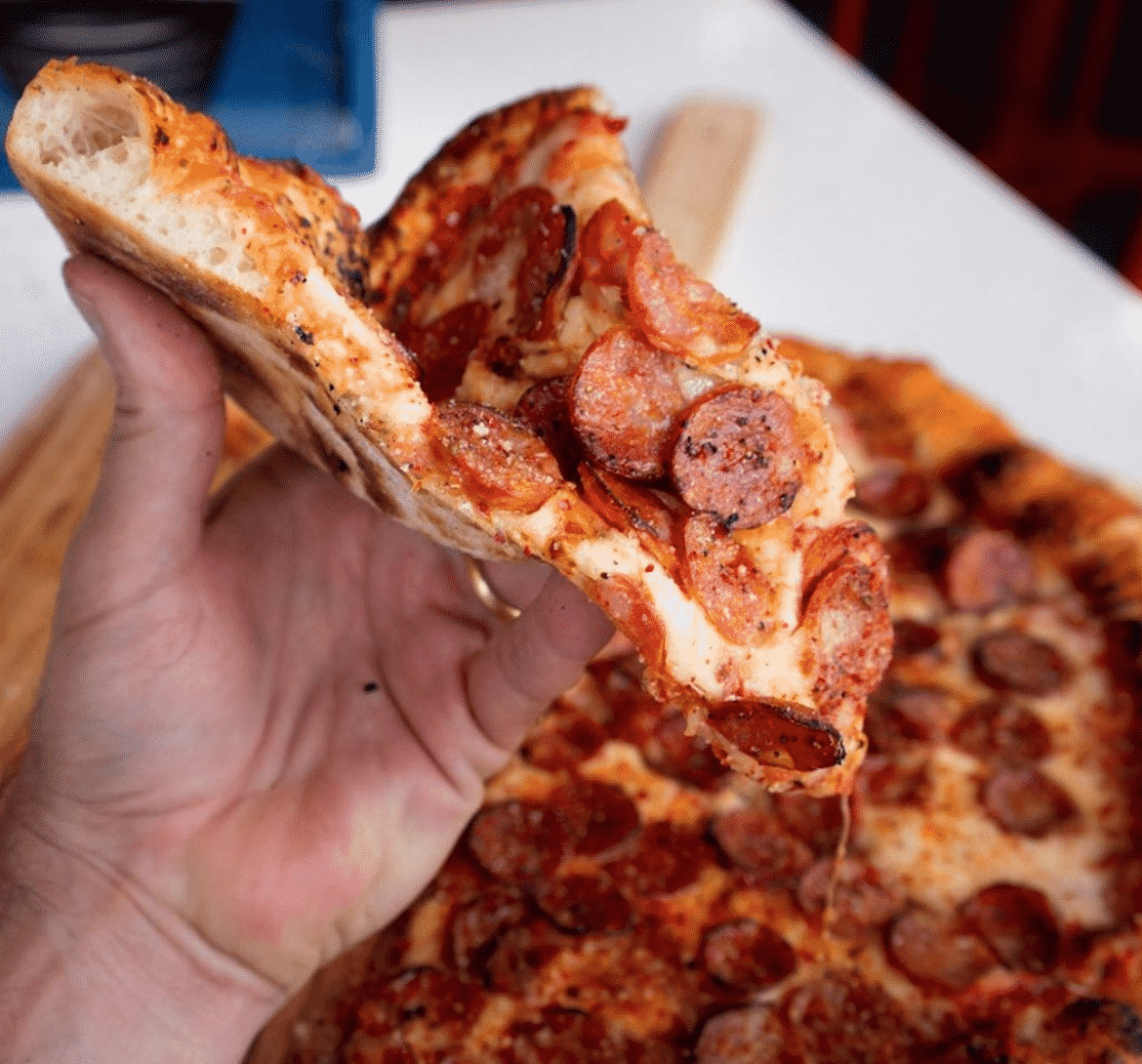 best pizza Texas