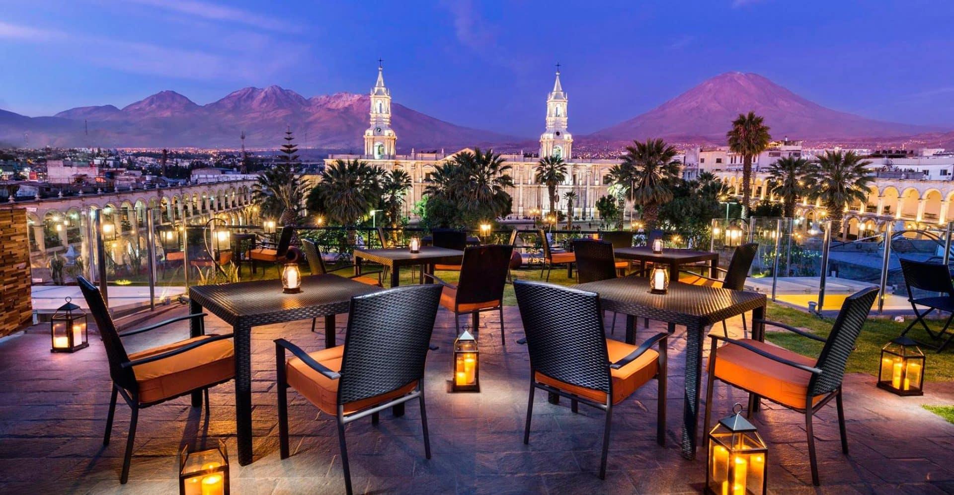Romantic Restaurant Arequipa Peru