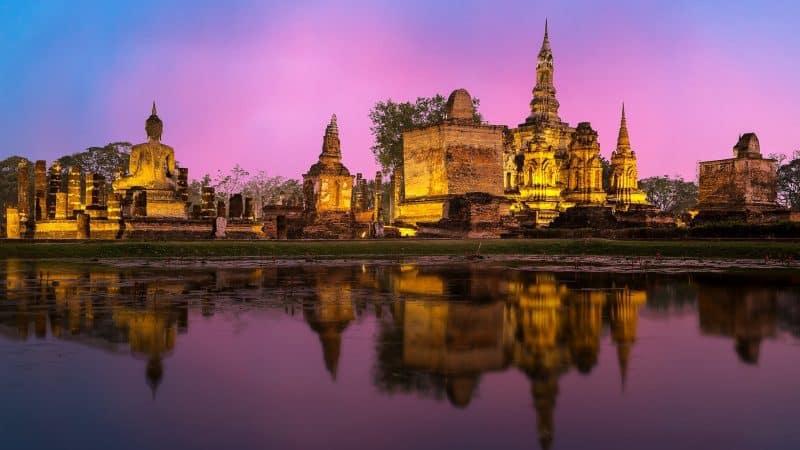 Historical Landmarks in Thailand